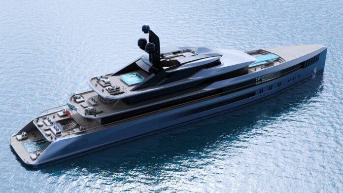 Tankoa Yachts: new 76mt Apache