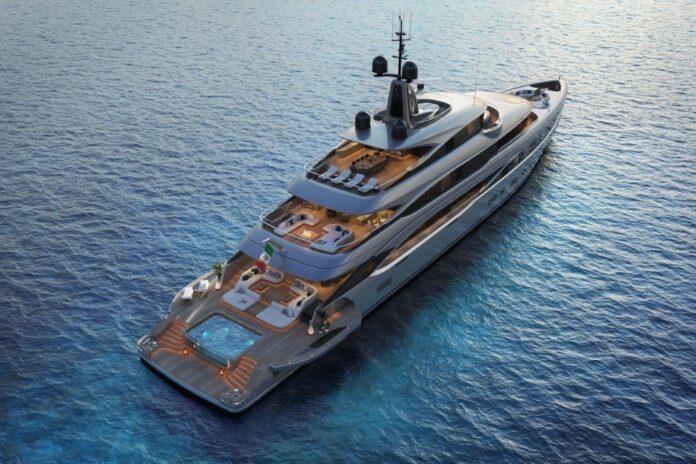 Benetti's Steel Yacht strategy