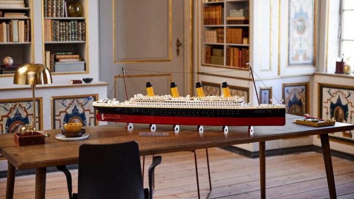 Lego 'Titanic'